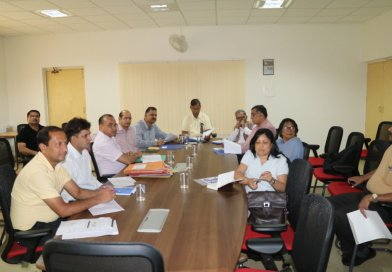R&D Project Evaluation Group Meeting held at UCOST, Vigyan Dham on 1st June, 2017
