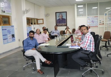 A review meeting of project Centre of Excellence on Forest Based Livelihood in Uttarakhand held on 1st June, 2017 at Vigyan Dham, Dehradun