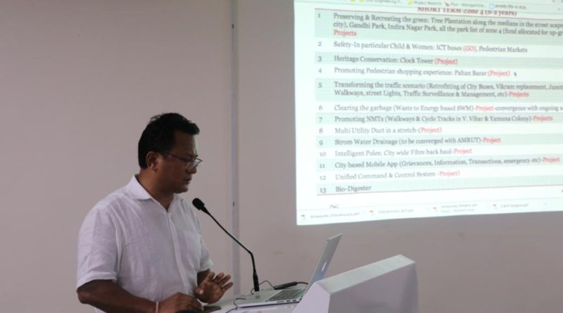 """A Popular Lecture on """"Concept on Smart City"""" held on 28th July, 2017 at UCOST, Vigyan Dham"""