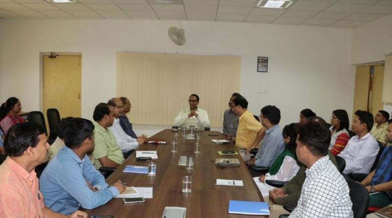 Secretary S&T Govt. of Uttarakhand visited UCOST & Regional Science Center on 13th July, 2017