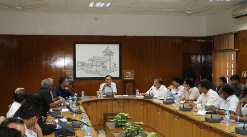 An Executive Committee Meeting of SDI Project on 26th July, 2017 held at Secretariat, Dehradun