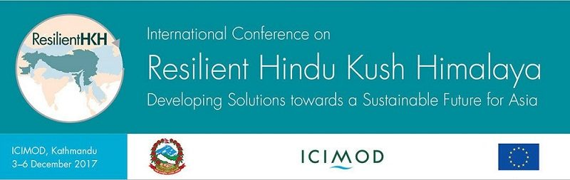 ICIMOD- International Conference : 3rd -6th Dec, 2017 at Kathmandu, Nepal
