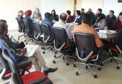 """First Task Force Meeting under the project""""Pt Deen Dayal Upadhayay Vigyan Gram Sankul Pariyojana"""" funded by DST GoI, New Delhi was held on 09th Dec, 2017 at UCOST, Vigyan Dham, Jhajra."""