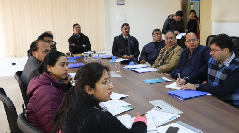 Second Project Advisory Committee meeting to formulate future roadmap for the Centre of Excellence (CoE) held on 15th Jan at Vigyan Dham
