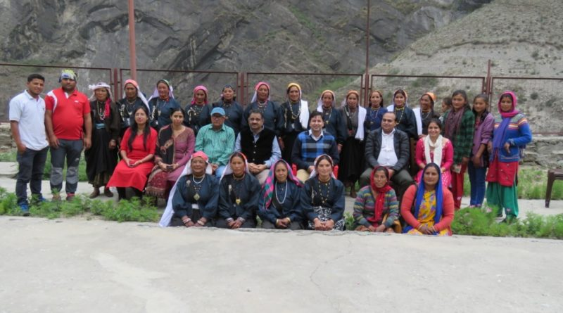 An One day workshop on 'Current Status and Potential of  Forest based Livelihood in Uttarakhand' was organised by CoE, UCOSTat Lata Village, Joshimath (Chamoli) on 16th June, 2018