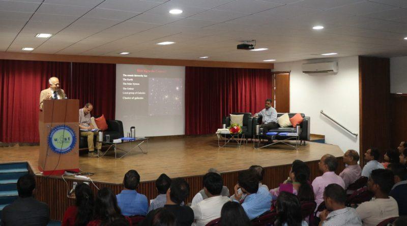 Popular Lecture of Padma Vibhushan Prof J V Narlikar on 11th August 2018 at Vigyan Dham