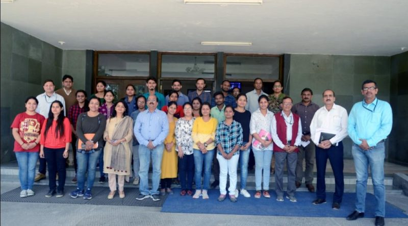 Joint Collaborative Skill Development Training of UCOST & CSIR-IIP on Basic Hands on Training on Bio Reactors and Testing of Petroleum Products started from 15th Oct, 2018 at IIP, Dehradun