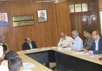 SDI Steering Committee meeting held on 26th October, 2018 at Secretariat, Govt. of Uttarakhand