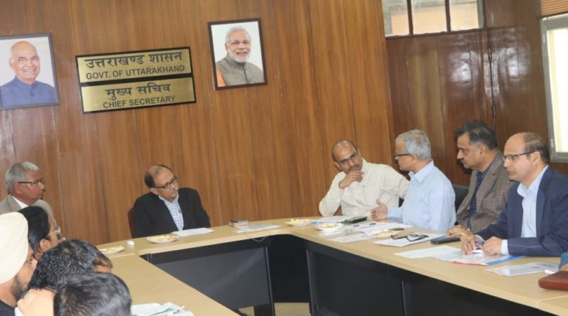 SDI Steering Committee meeting held on 26th October, 2018 at Secretariat, Govt. of Uttarakhand