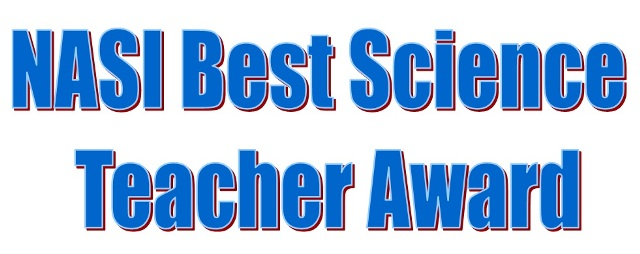 NASI Best Science Teacher Award 2018-19
