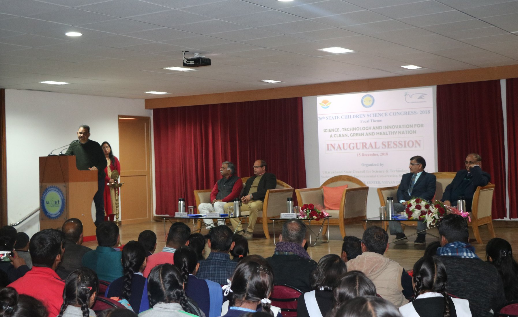 The Science Of Getting Kids Organized >> State Level Children Science Congress 2018 Organized At Ucost