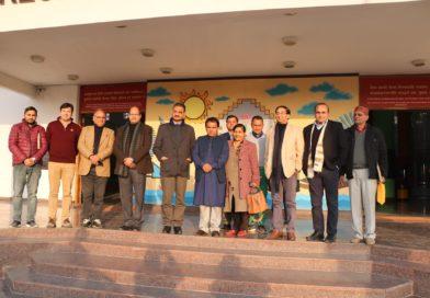 उच्च शिक्षा मंत्री डा धन सिंह रावत द्वारा आंचलिक विज्ञान केंद्र भ्रमण