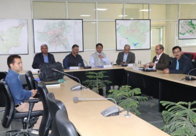 A technical review committee meeting of SDI Project