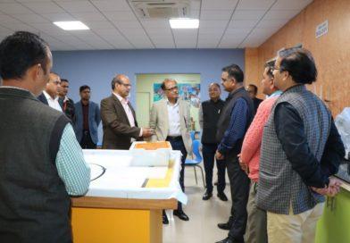 Chief Secretary Govt. of Uttrakhand, Sh. Uttpal Kumar Visited UCOST, Vigyan Dham on 18th March, 2019