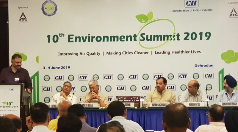 10th Environment Summit 2019 has been started at Hotel Madhuban, Dehradun, Jointly organized by UCOST & CII Uttarakhand State Council, Dehradun
