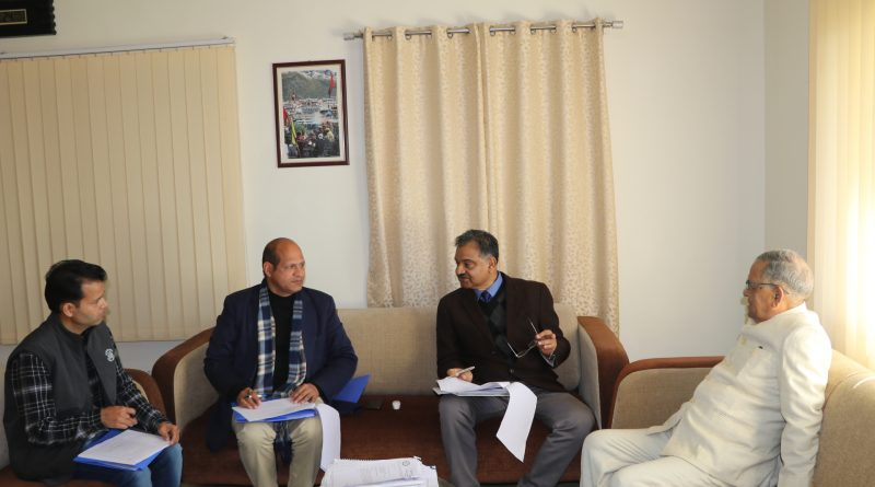 The National Academy of Sciences (NASI), Uttarakhand Chapter Annual meeting held on 24.01.2020 at UCOST, Dehradun