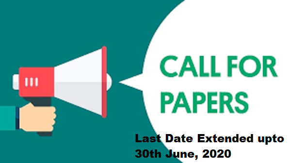 Last Date Extended -Call for papers for Edited eBook Chapters on Covid-19 as celebration of World Environment Day 2020