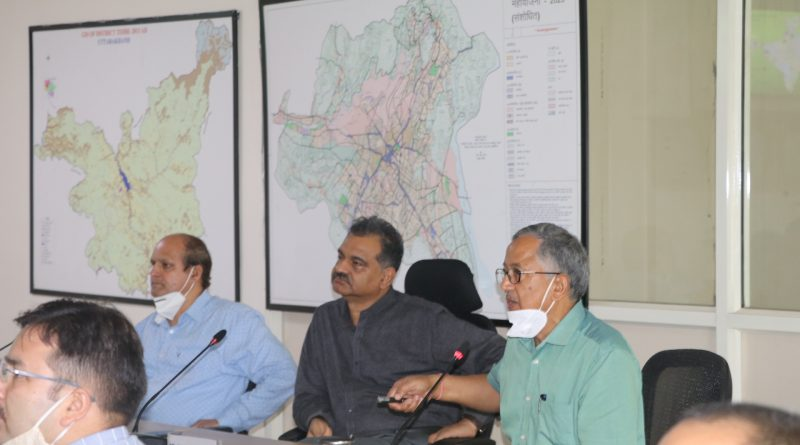 "A Lecture on ""Science City & Its Planning"" was held at UCOST,Vigyan Dham, Dehradun on 19th June, 2020"