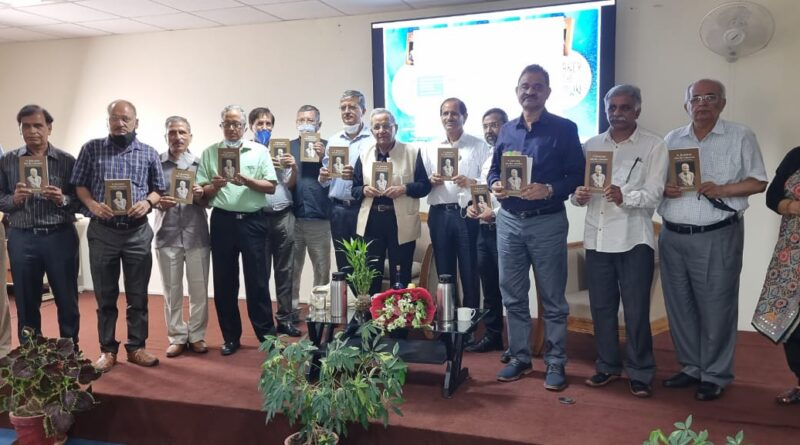 """""""A Journey into the Unknown"""" book release by Prof A. N. Purohit & Dr Rajendra Dobhal through a 'Tête à Tête at Vigyan Dham on 17th July, 2021"""