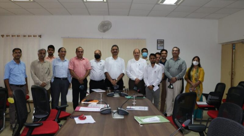 E-Waste Management Project Review Meeting held at UCOST, Vigyan Dham