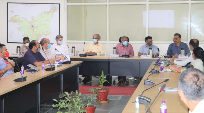 PRG & PEG meeting was held on 20-21 Sept, 2021 at UCOST, Vigyan Dham, Jahjra, Dehradun